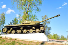 IS-3 - Période lourde soviétique de développement de réservoir de la grande guerre patriotique Photo libre de droits