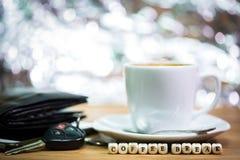 Périodes de café, pause-café image stock
