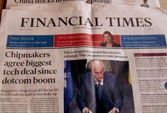 périodes financières Images stock