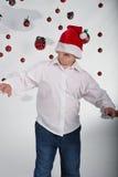 Périodes idiotes à Noël Images libres de droits