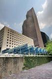 périphérie de stationnement de Houston Photos libres de droits