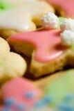 Pérola em um biscoito Foto de Stock