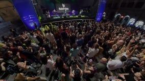 Pérouse, Italie-juillet 11,2019 Ziek Mc Carter - escroc Brio-Ombrie Jazz Festival banque de vidéos
