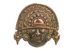 Péruviens cérémonieux antiques de masque Images libres de droits