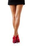 Pés bonitos das mulheres imagens de stock royalty free