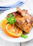 Pés de galinha Foto de Stock