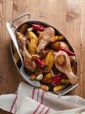 Pés de galinha assados ao forno Imagem de Stock Royalty Free