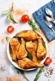 Pés de galinha cozidos Fotos de Stock Royalty Free