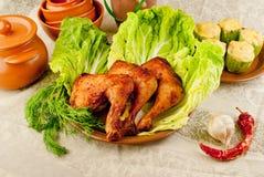 Pés de galinha cozidos Imagens de Stock Royalty Free