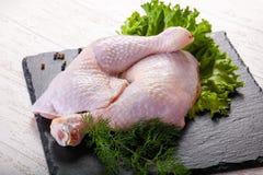 Pés de galinha crus Fotos de Stock Royalty Free