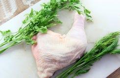 Pés de galinha crus Imagens de Stock Royalty Free