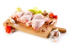 Pés de galinha crus frescos Foto de Stock