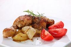 Pés de galinha fritada Imagens de Stock Royalty Free