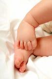 Pés do bebê Imagens de Stock Royalty Free