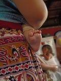 Pés do bebê Imagens de Stock
