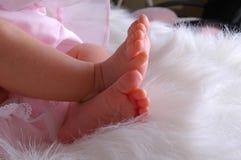 Pés doces do bebê Imagens de Stock Royalty Free