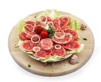 Pés Shredded da carne de porco Imagem de Stock
