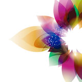 Pétalas coloridas Imagens de Stock Royalty Free