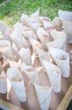 Pétalas cor-de-rosa da decoração Fotografia de Stock Royalty Free