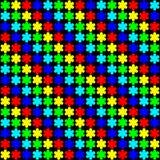 Pétalas do arco-íris Imagens de Stock