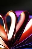pétalas do cartão colorido Imagem de Stock Royalty Free