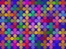 Pétalas no azul Foto de Stock Royalty Free