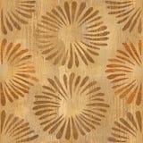 Pétales décoratifs - fond sans couture - texture en bois Photo libre de droits