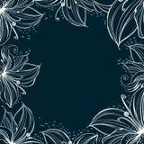Pétales stylisés décorés par vue Photo stock