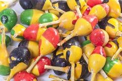 Pétards colorés de plan rapproché Photo libre de droits