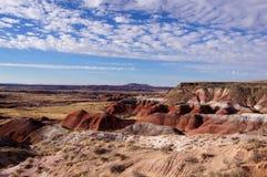Pétrifié-Forêt-National-parc, Arizona, Etats-Unis Image stock