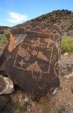 Pétroglyphe 1 Images libres de droits