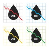 pétrole Images libres de droits