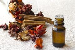 Pétrole aromatique Image stock