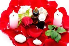 Pétrole d'Aromatherapy Images libres de droits