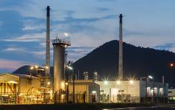 Pétrole d'huile industriel Image libre de droits