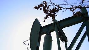 Pétrole de pompage de plate-forme pétrolière clips vidéos