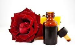 Pétrole des roses Photos stock