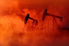 Pétrole et gaz Photos libres de droits
