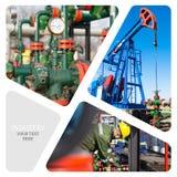 Pétrole et industrie du gaz photo libre de droits