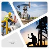 Pétrole et industrie du gaz photo stock