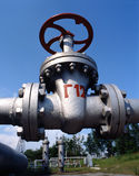 Pétrole et industrie du gaz normale Photos libres de droits