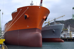 Pétrole et industrie du gaz - pétrolier de grude Photographie stock
