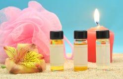 Pétrole parfumé Photographie stock