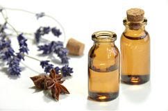 Pétroles d'aromathérapie image libre de droits