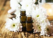Pétroles d'Aromatherapy photos stock