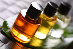 Pétroles d'Aromatherapy Image libre de droits