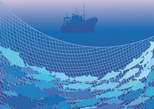Pêche à la mer Photographie stock libre de droits
