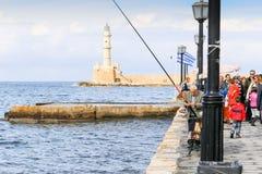 Pêche à la promenade Photographie stock libre de droits