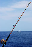 Pêche allée photo libre de droits
