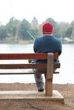 Pêche allante Photographie stock libre de droits